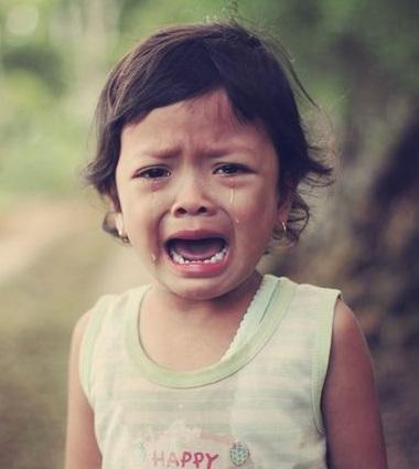 心の中で泣いている